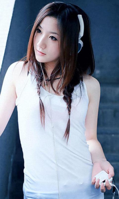 日本真人美女脱俗图片 竖