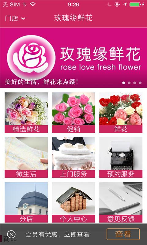 玫瑰缘鲜花