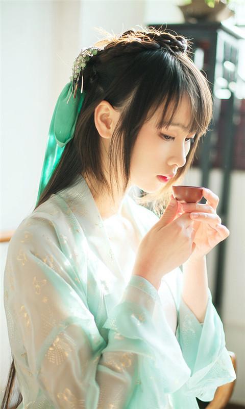 日本真人美女脱俗壁纸
