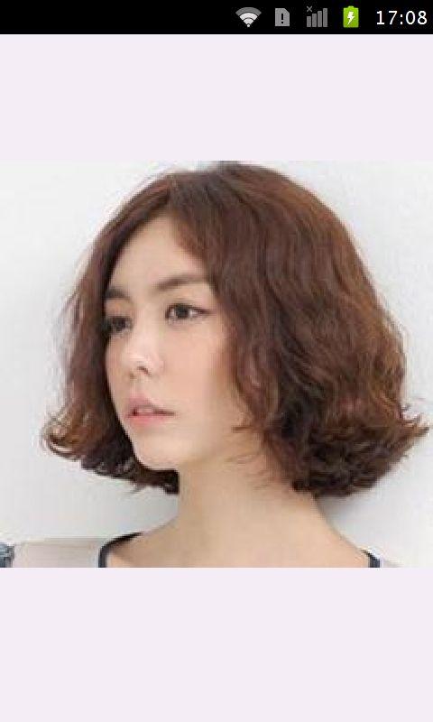 短发卷发发型图片