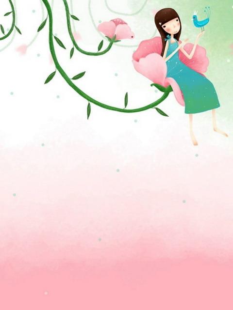 韩国手绘插画图片