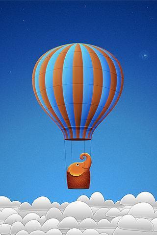漂亮热气球图片