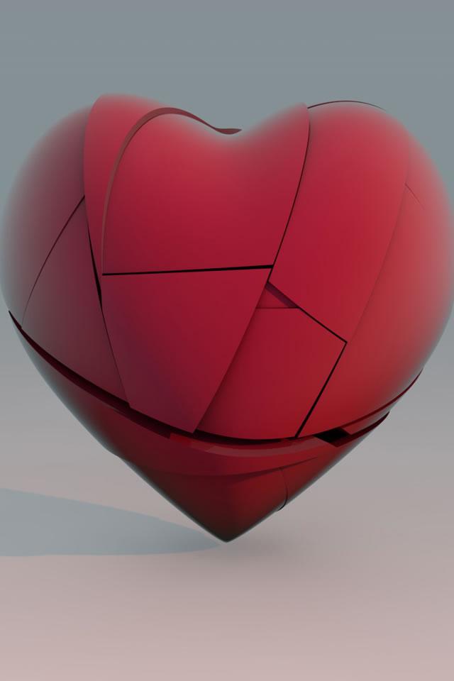 心形love情侣爱情壁纸图片