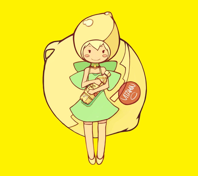 柠檬女孩安卓手机壁纸下载-安卓网图片