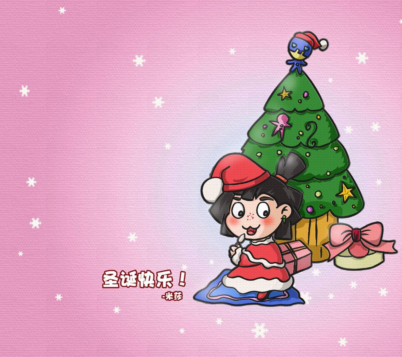 诺诺森林 圣诞壁纸图片