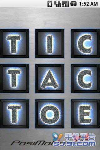 Tic Tac Toe 三子棋 棋類遊戲 App-癮科技App