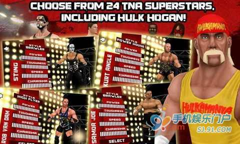 TNA格斗大赛 TNA Wrestling iMPACT
