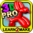 Balloon Animals 3D PRO - 3D Dollar Origami Shirt instruction included!