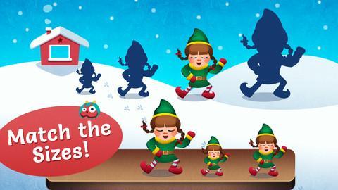 冬季仙境的小外星人图片