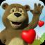 说到温暖的拥抱 Talking Bear Hugs - animated video message