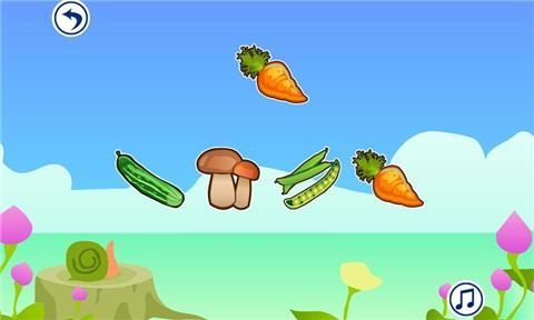 宝宝早教-认蔬菜