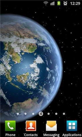 玩個人化App|3D高清地球动态壁纸免費|APP試玩