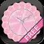 动态时钟壁纸 [FREE]CUTE QLOCK LWP Baby Pink