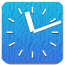 蓝色巨人时钟 Big Blue Clock +Alarm | Widget LOGO-APP點子