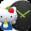 Hello Kitty时钟
