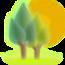 nature backgrounds  自然背景 繁体中文版 LOGO-APP點子