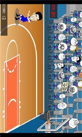 林书豪街头疯狂篮球