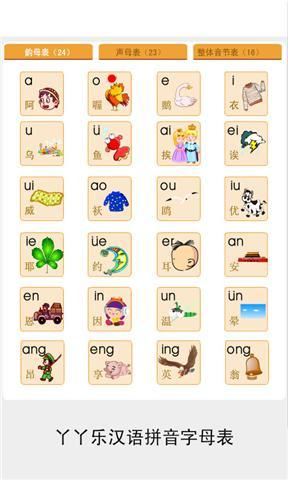 拼音字母表图片