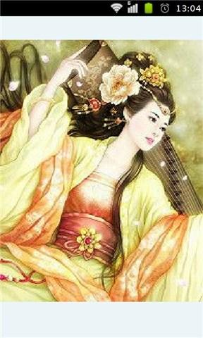 古代美女图片(手绘)_提供古代美女图片(手绘)1图片