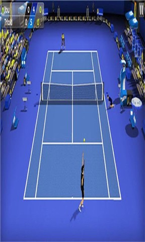 【iOS APP】Cross Court Tennis 交叉網球遊戲