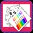 怪物女孩涂色 書籍 App LOGO-硬是要APP