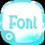 蓝盘字体 工具 App LOGO-APP試玩