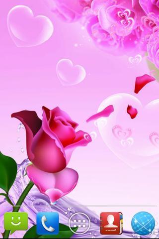 爱情玫瑰动态壁纸