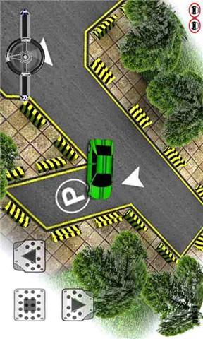 驾照停车考核练习