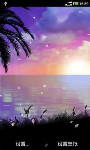 浪漫夜空动态壁纸