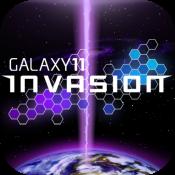 盖世11:外星人入侵 GALAXY 11: INVASION LOGO-APP點子