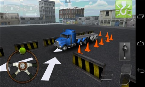 大卡车停车3D