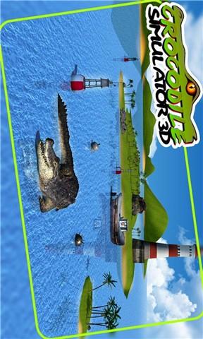 愤怒的鳄鱼模拟器3D