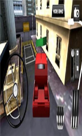 3D卡车模拟驾驶停车2