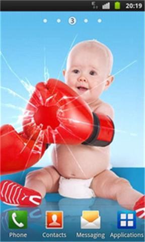 玩免費個人化APP|下載有趣的婴儿破获屏幕 app不用錢|硬是要APP