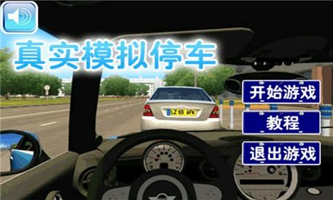 真实模拟停车