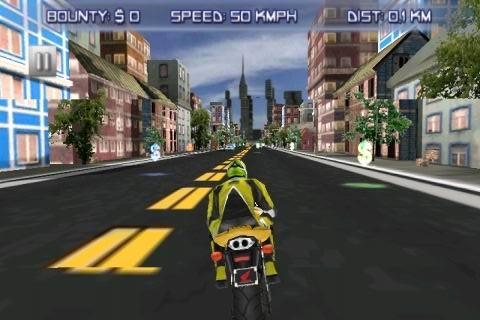 急速狂野摩托车