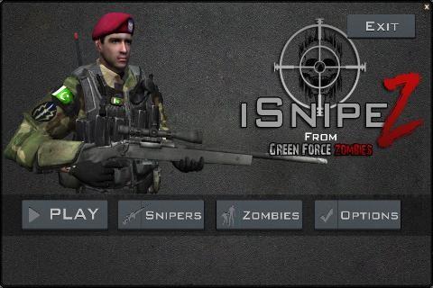 狙击战役:僵尸修改版