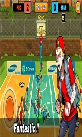 街扣篮3对3篮球